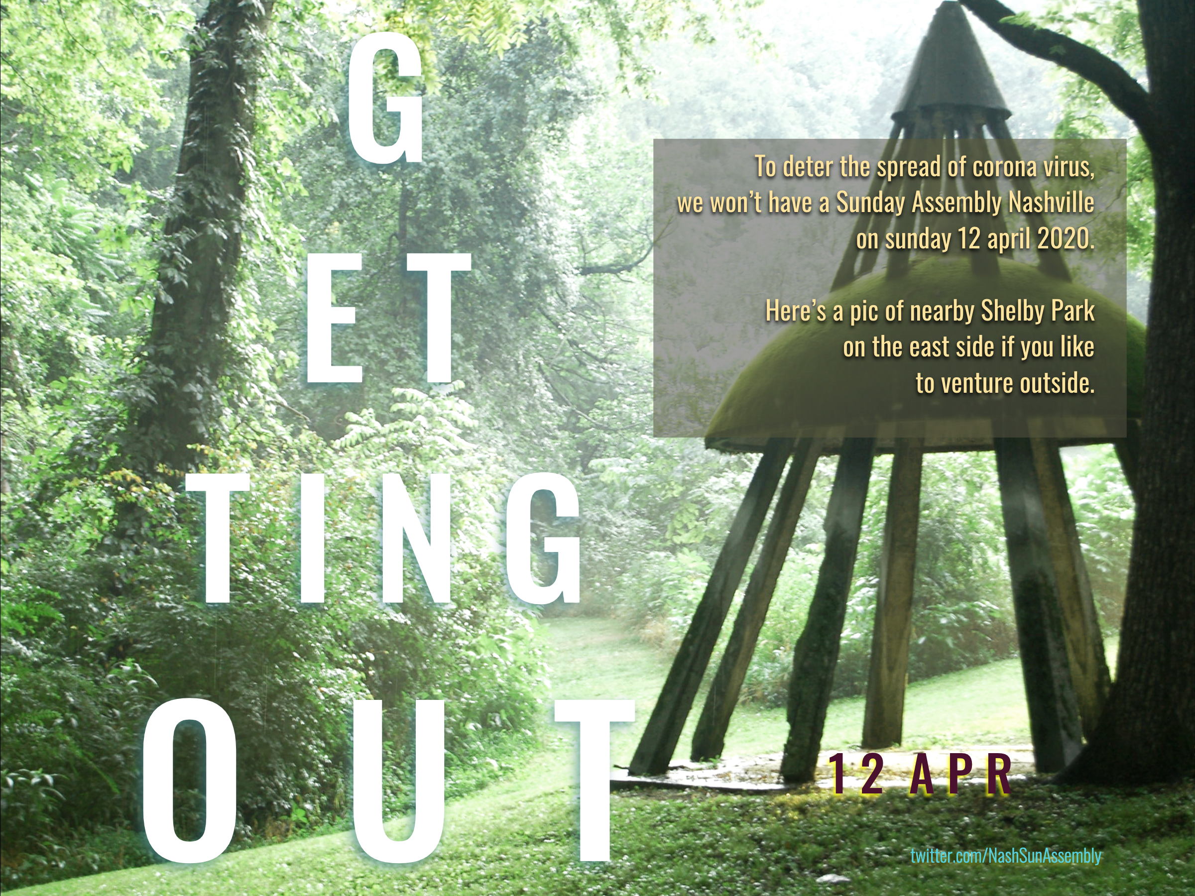 Getting Out • 12 apr