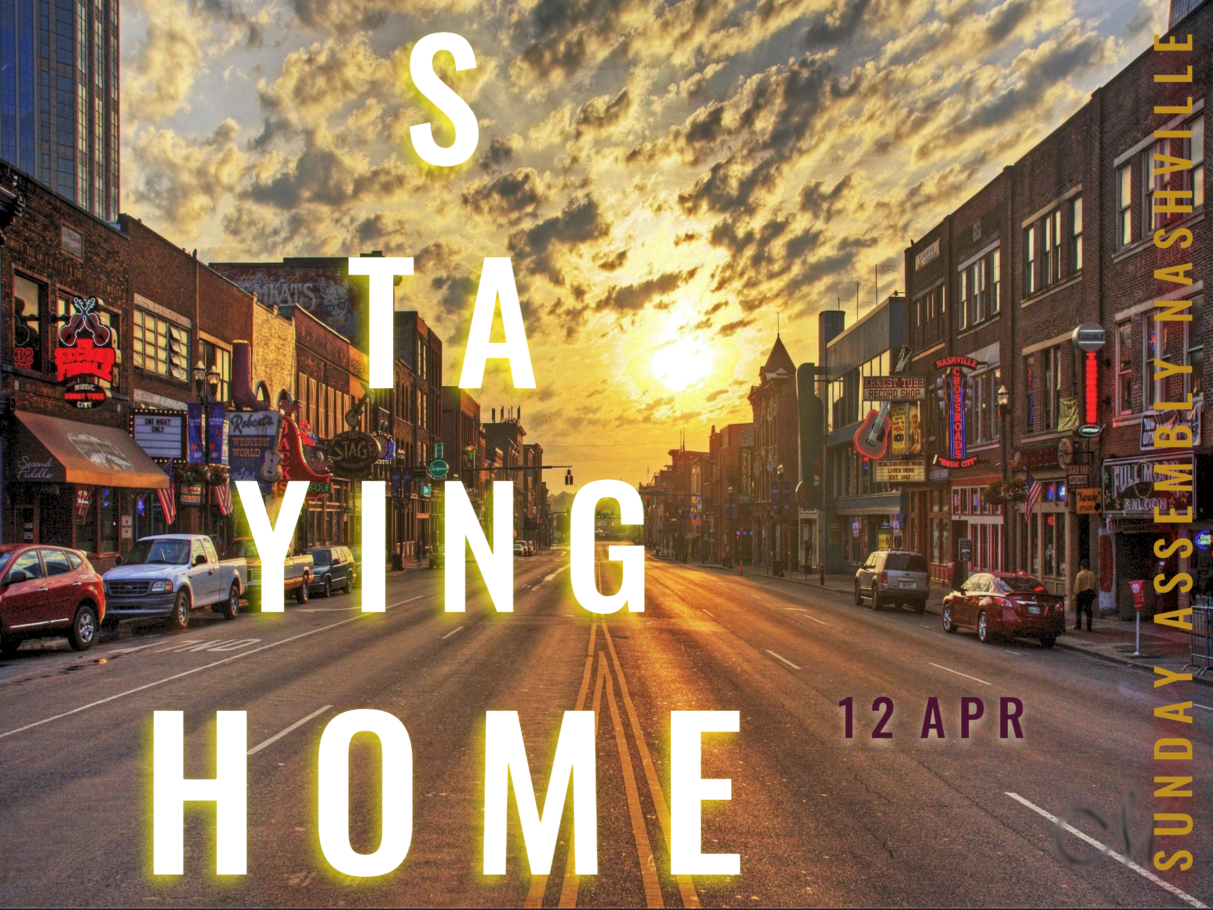 Staying Home • 12 april 2020
