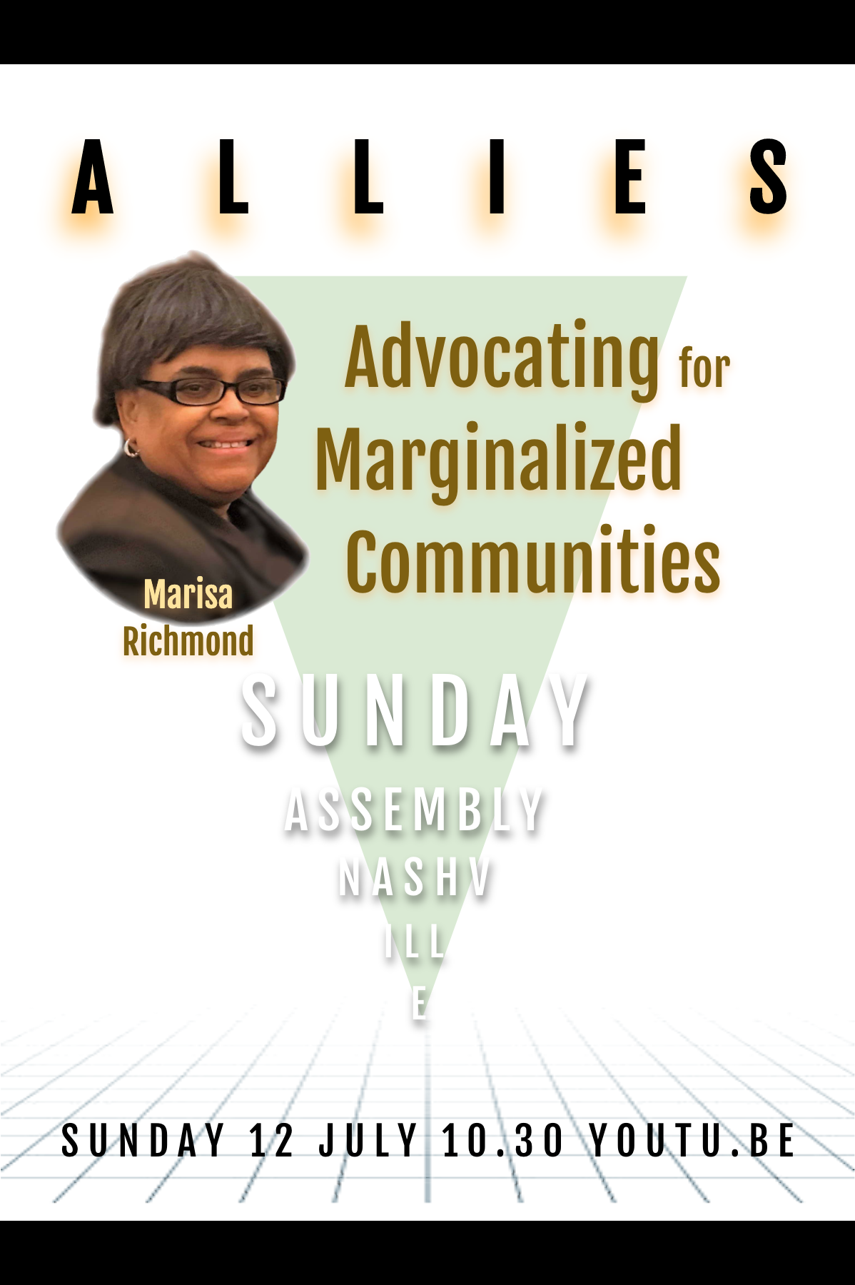 2020 July • Sunday Assembly Nashville • Allies • w/ Marisa Richmond