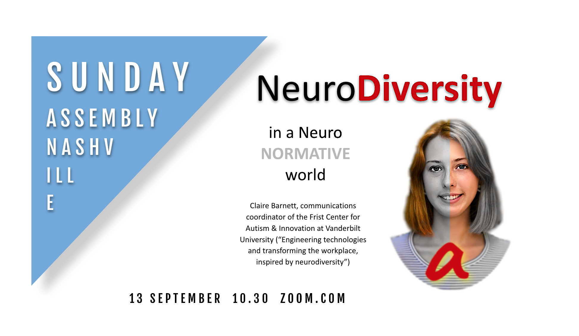 Claire Barnett on NeuroDiversity in a NeuroNormative World sep 2020