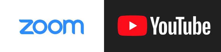 on Zoom & YouTube